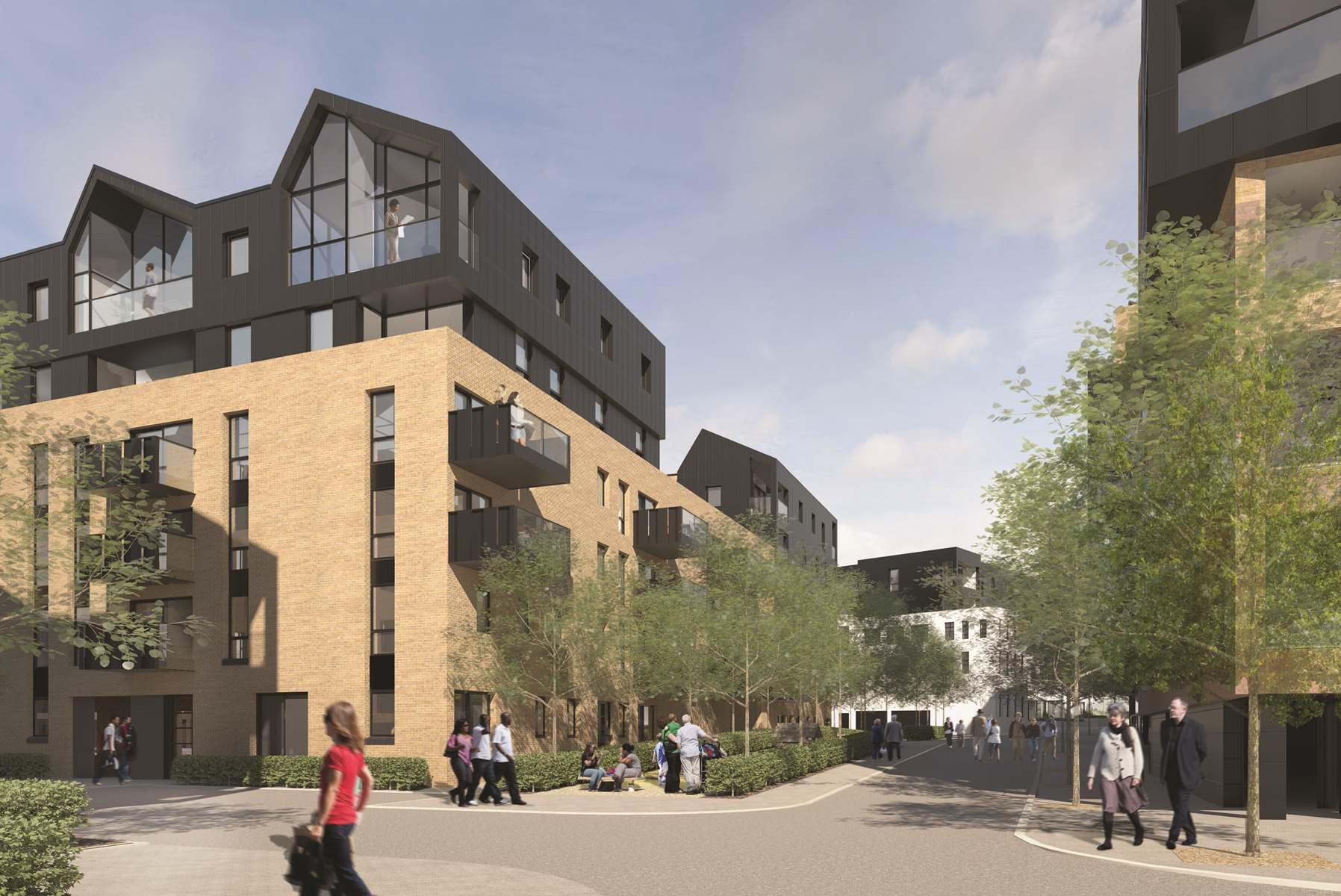 Taylor Wimpey Eclipse Development in Walthamstow