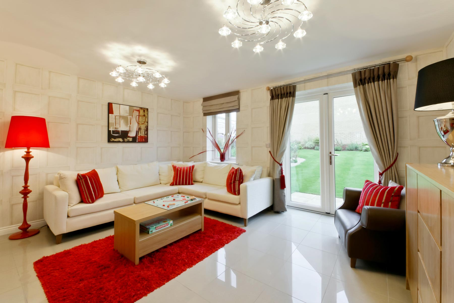 Taylor Wimpey - Typical family room