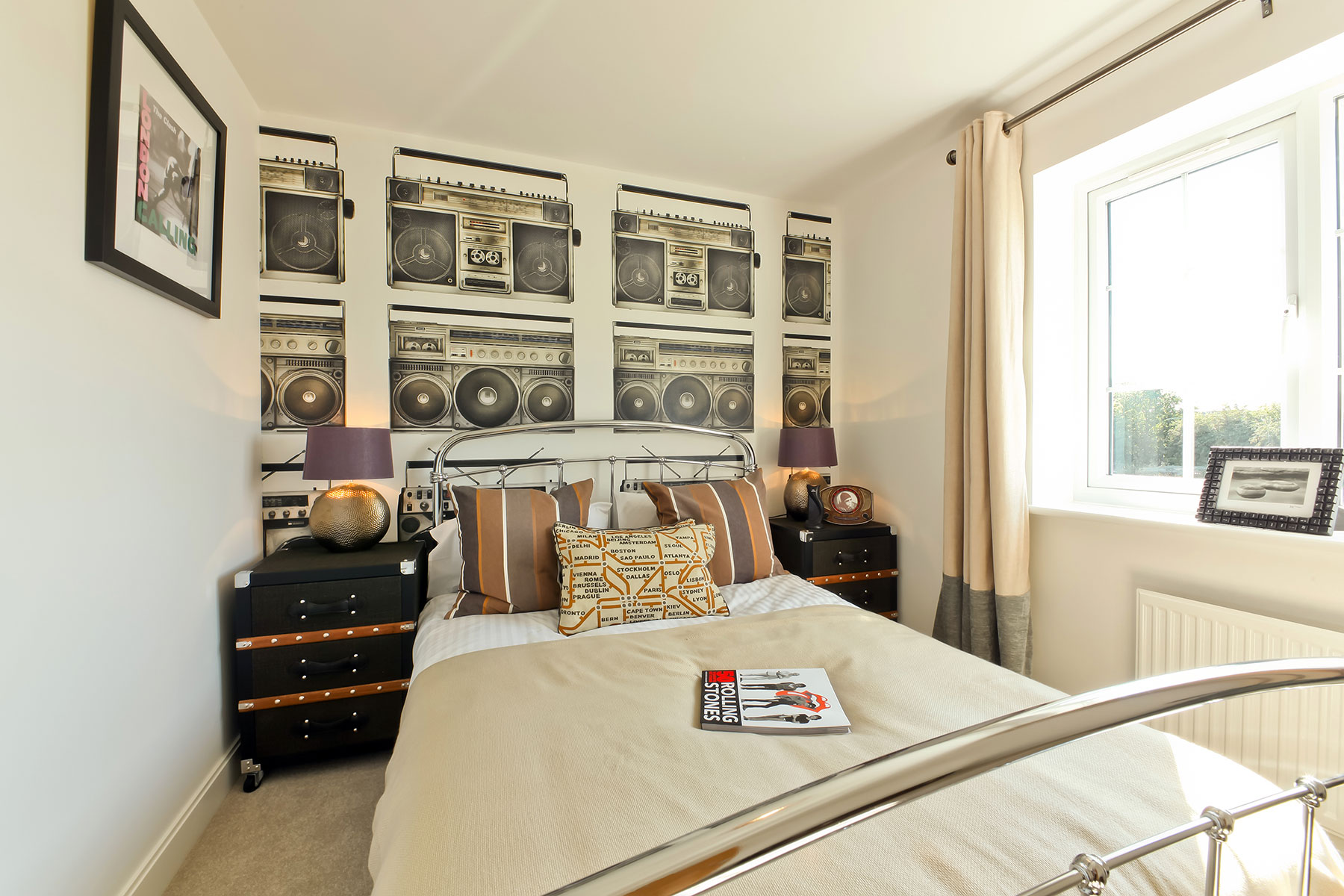 Taylor Wimpey - typical third bedroom
