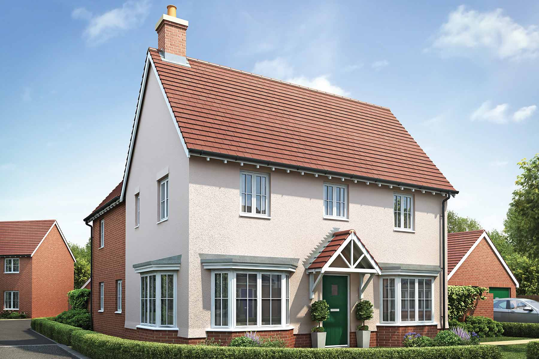 The Bartlett, Taylor Wimpey at Olstead Grange, Felsted, Essex