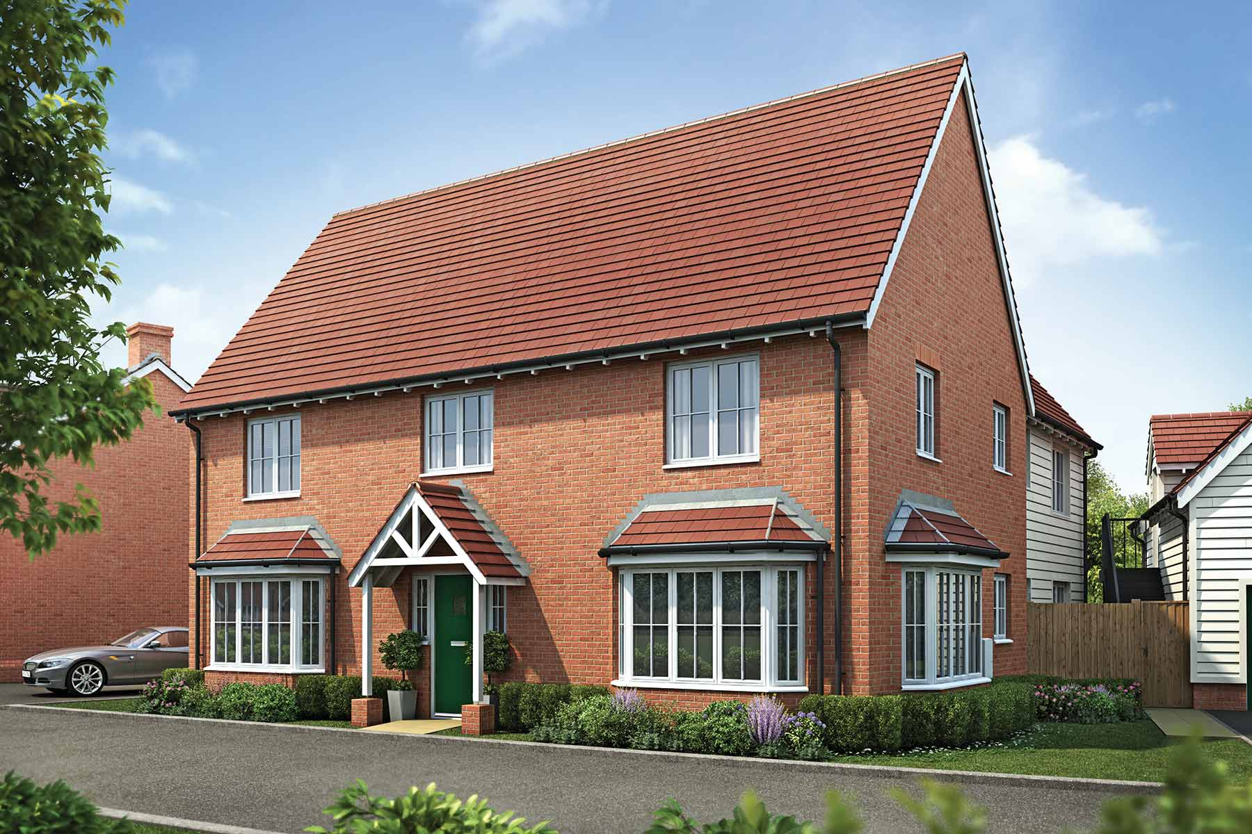 The Weaver, Taylor Wimpey at Olstead Grange, Felsted, Essex