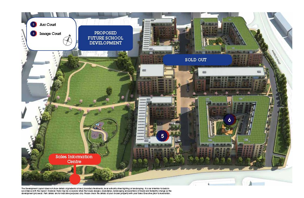 Reflections site plan