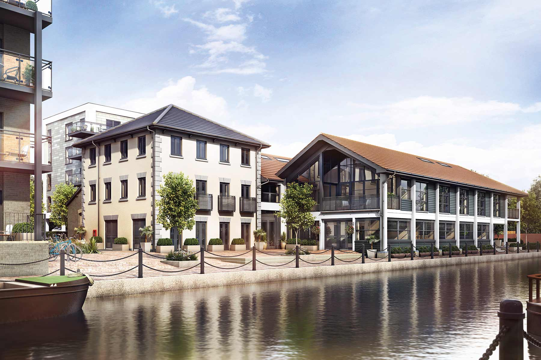 Artist impression of The Waterfront II