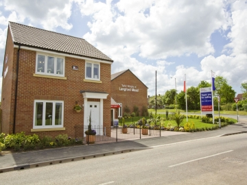 TW Exeter  Langford Mead  Midford  Sales Office Exterior web