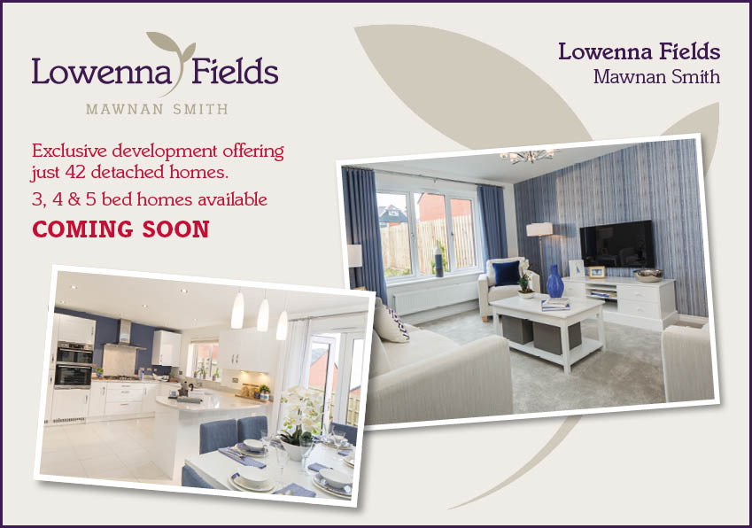Lowenna Fields Coming soon banner