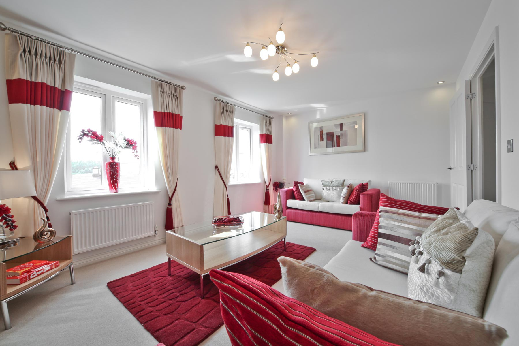 Hele Park Belbury example family room