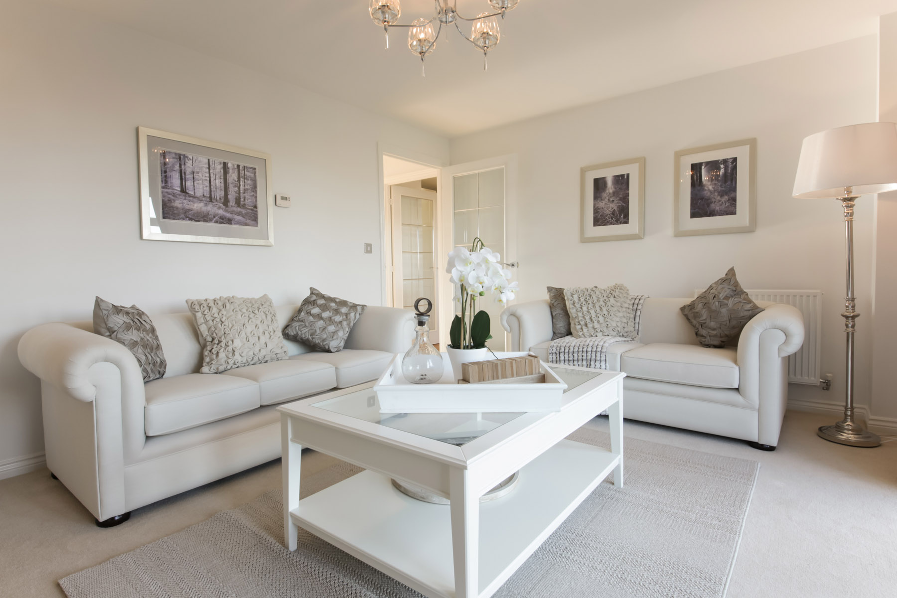 Hele Park Bradenforth example living room