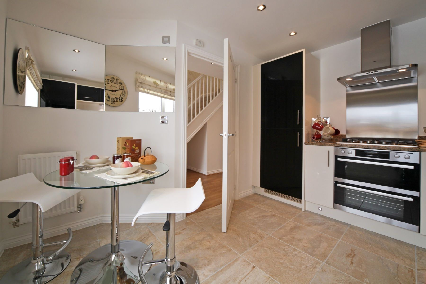 Hele Park Rackenford example kitchen