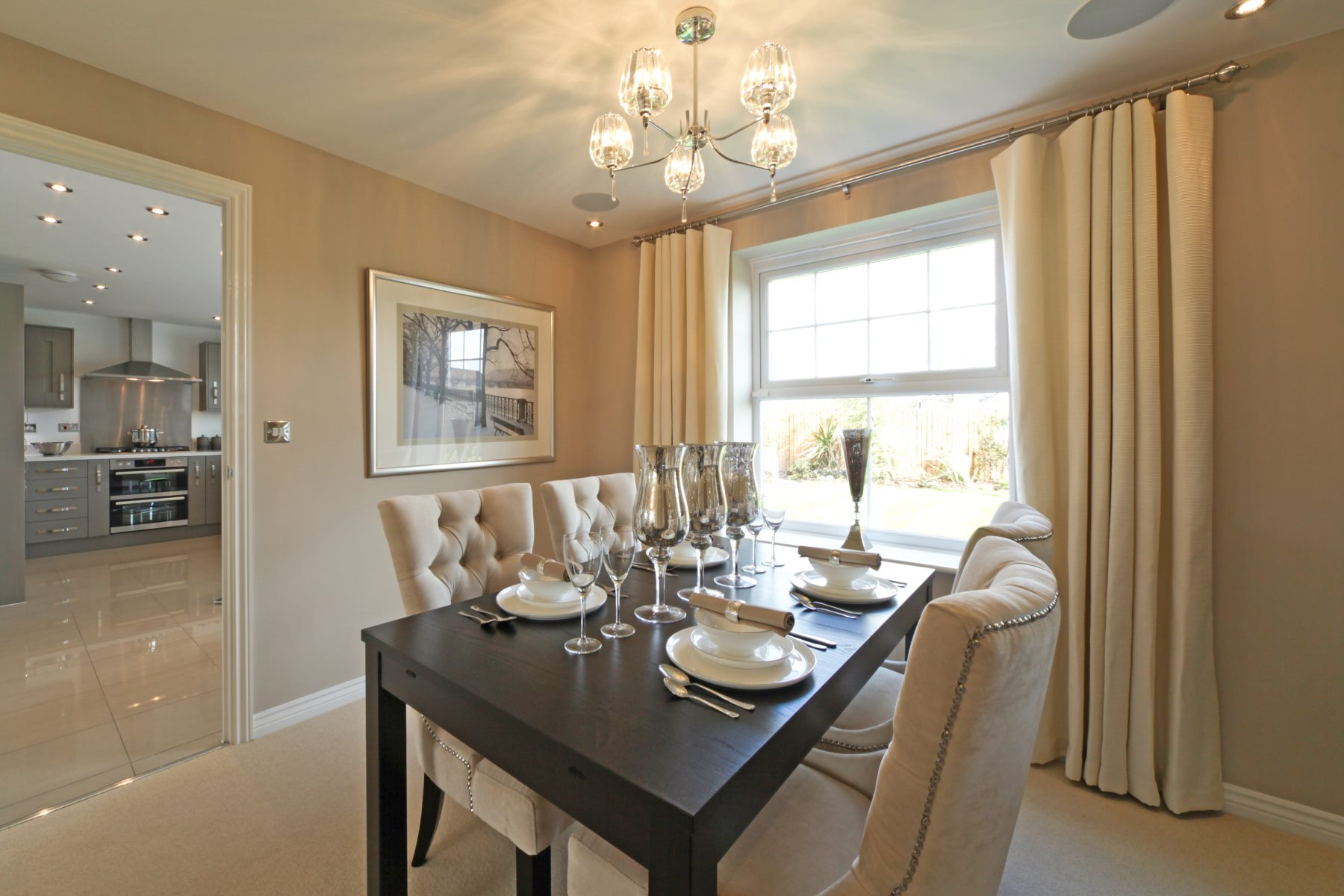 Eynsham Showhome Dining Room