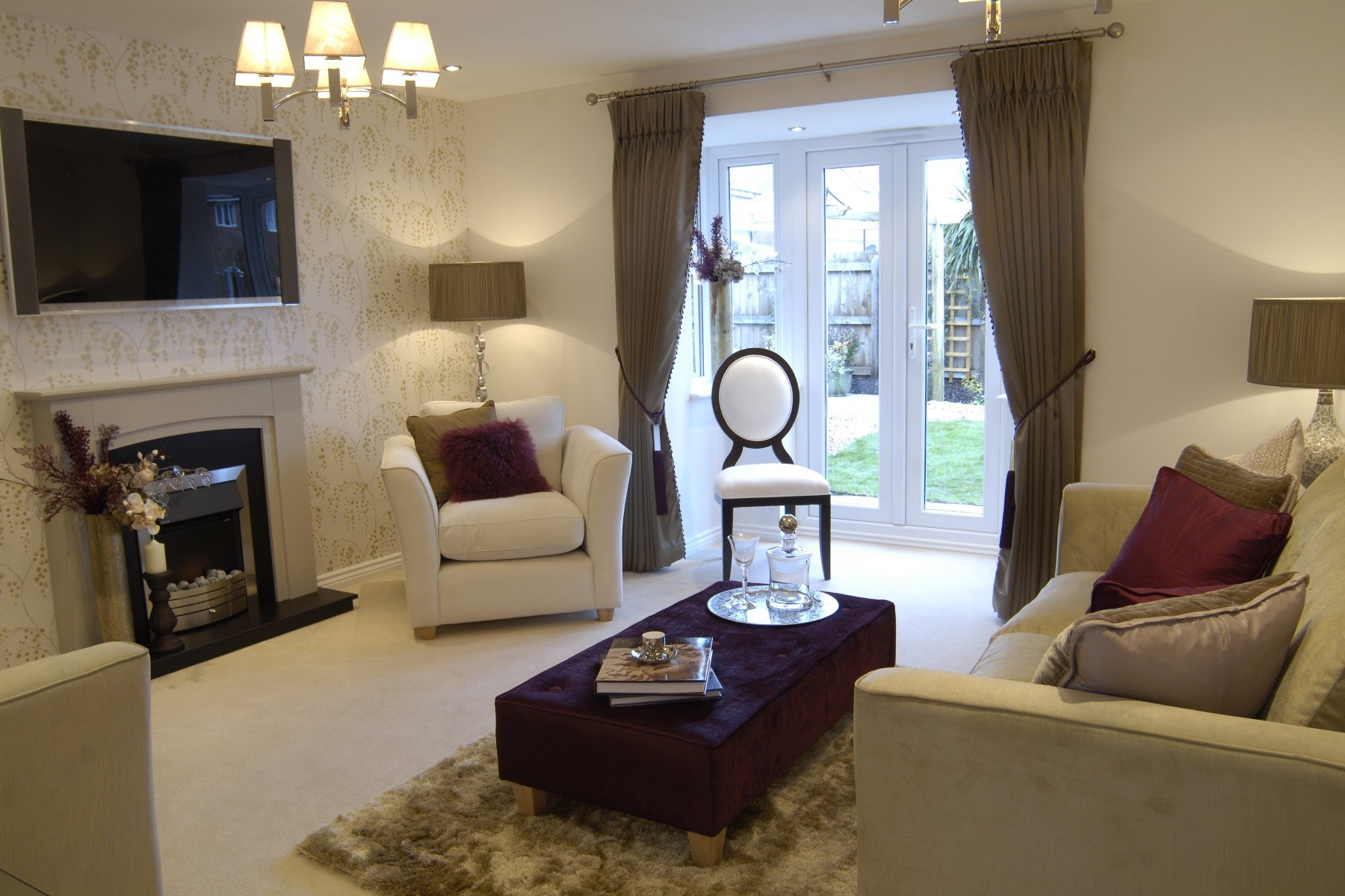 Canterbury Showhome Living Room