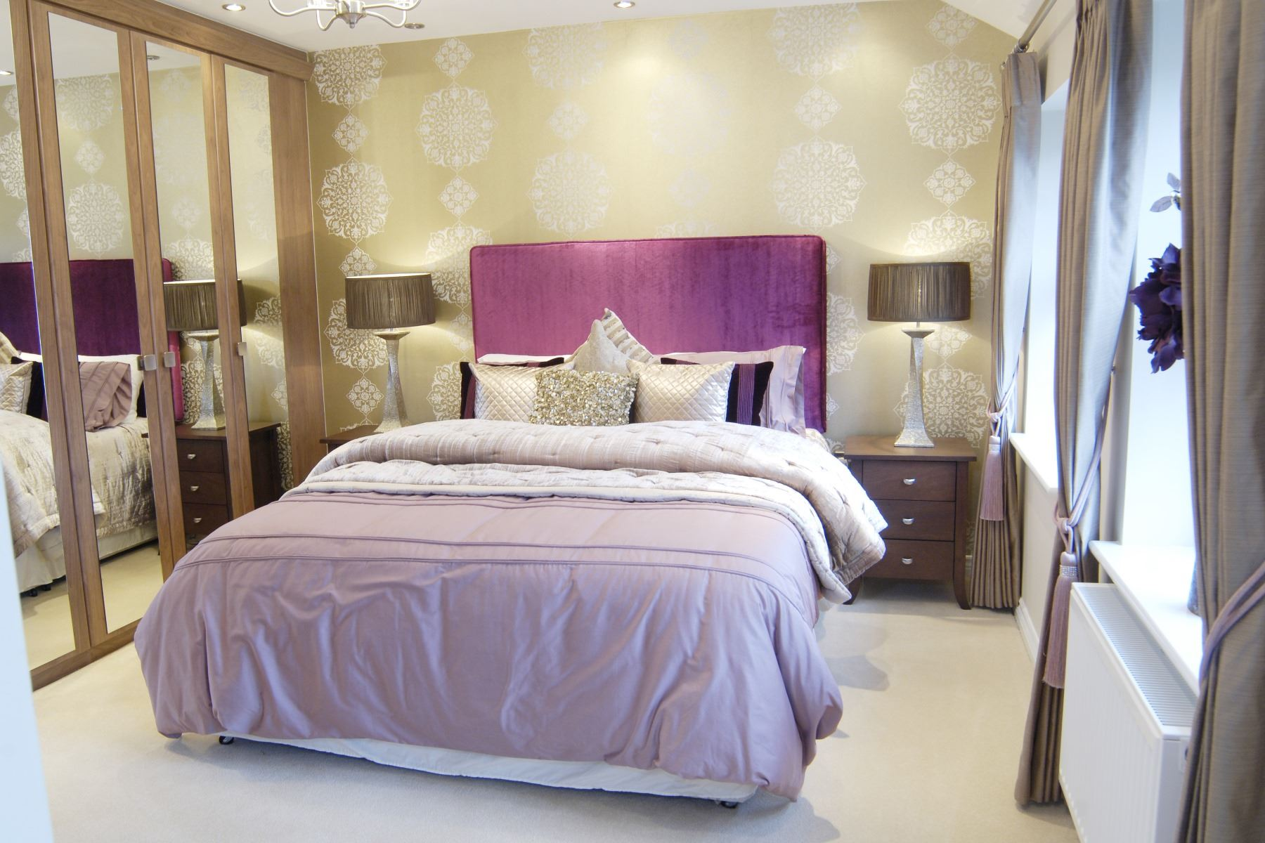 Canterbury Showhome Master Bedroom