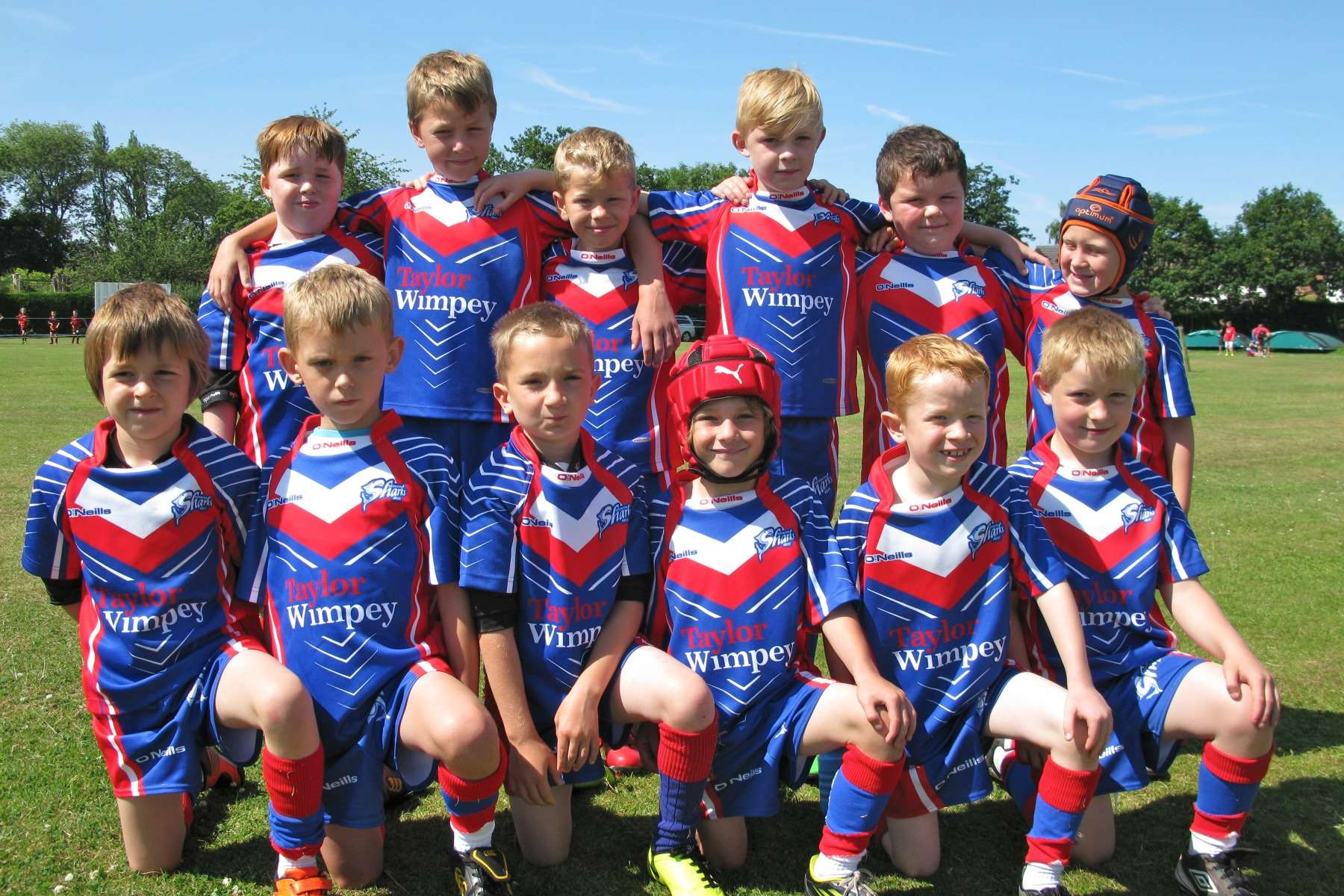 Shevington Sharks Under 8 Team Sponsorship
