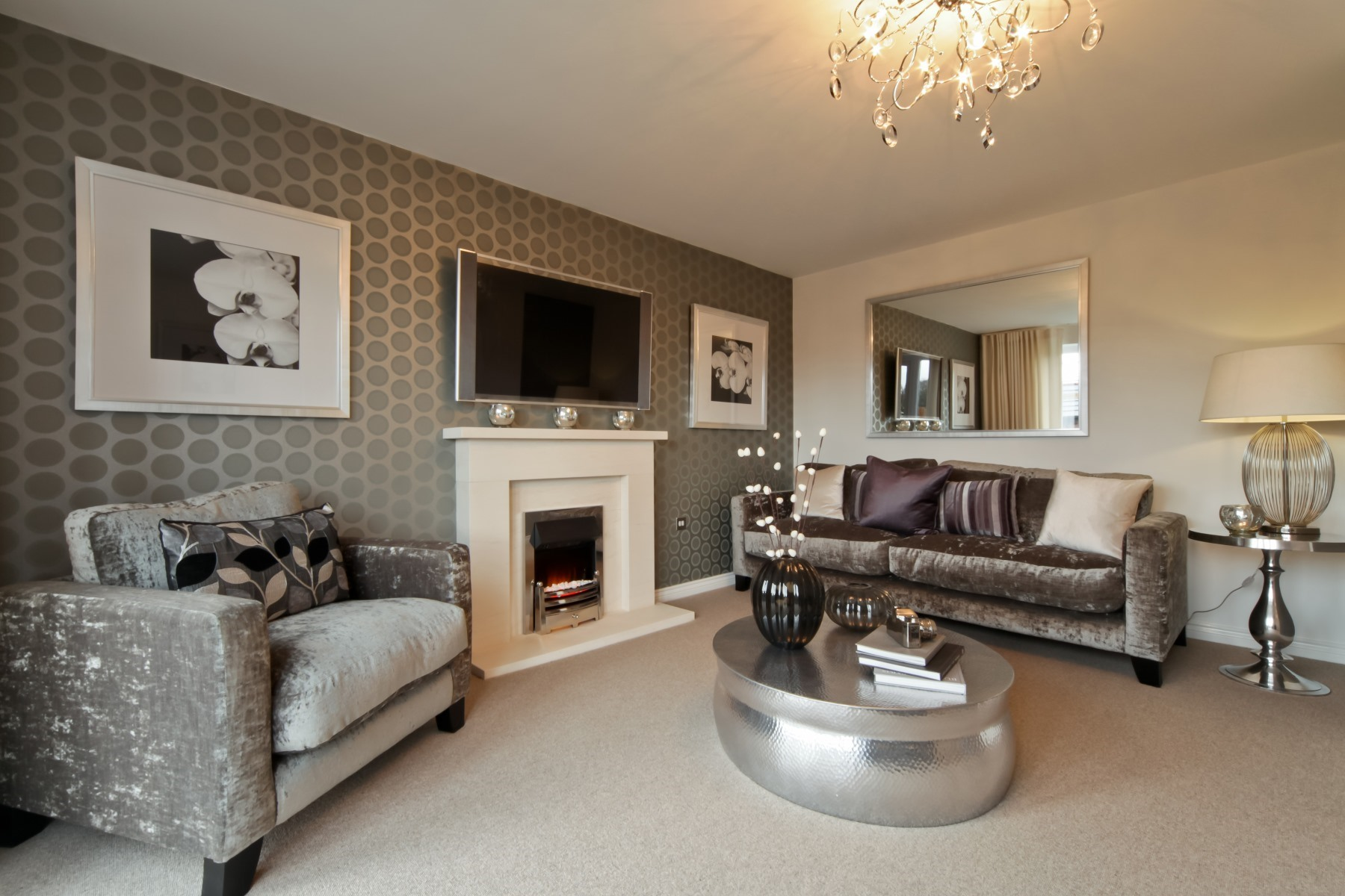Tarvin Living Room - Oakwood Meadows