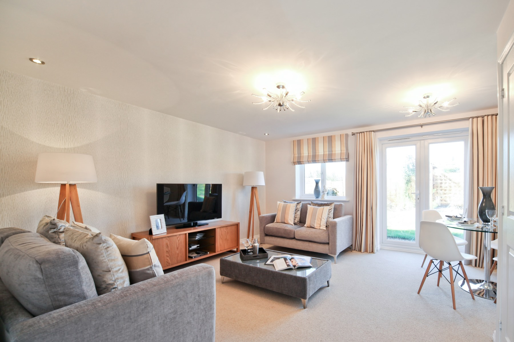 Knutsford Living Room - Nightingale Gardens