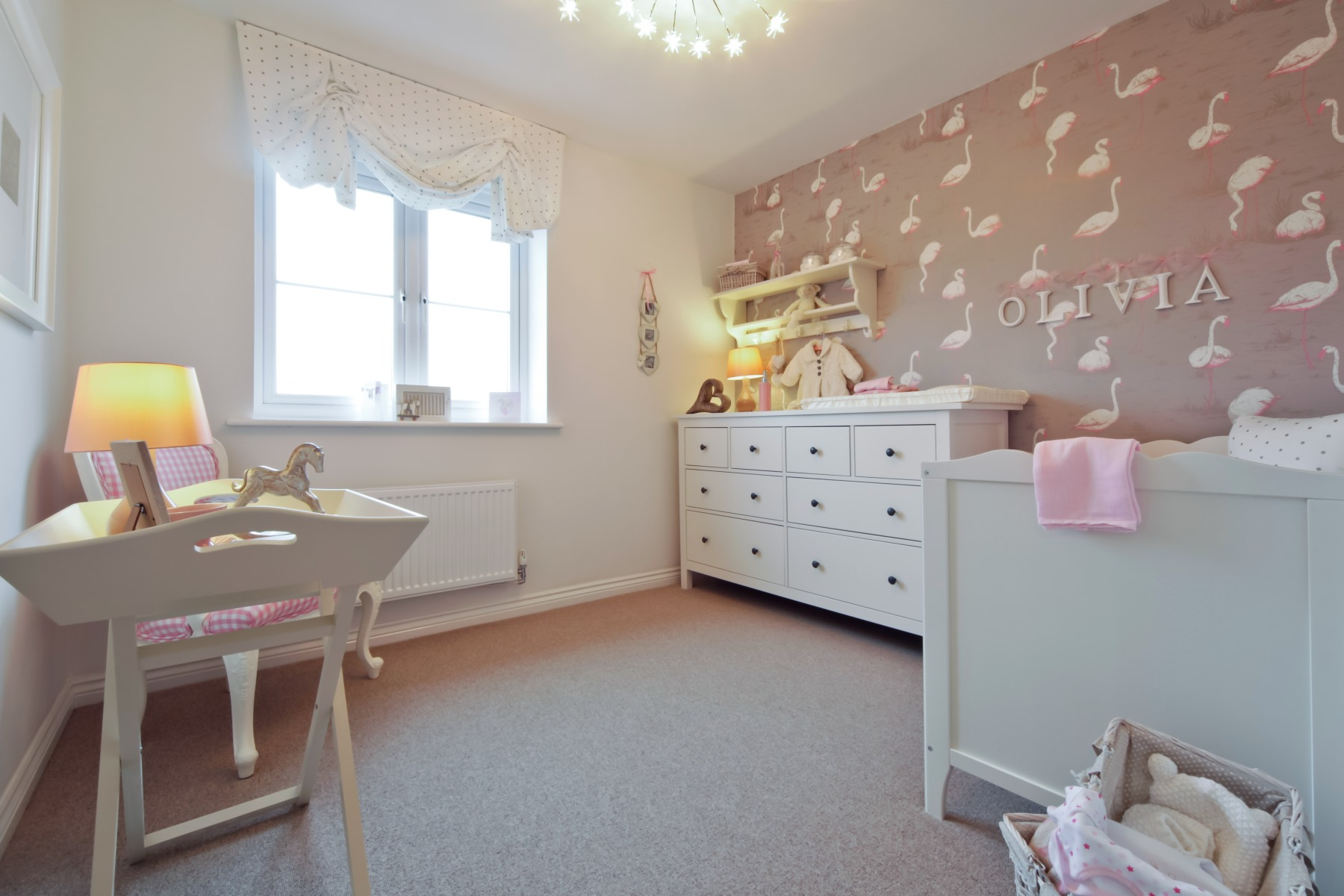 Tarvin Nursery Bedroom 3 - Oakwood Meadows