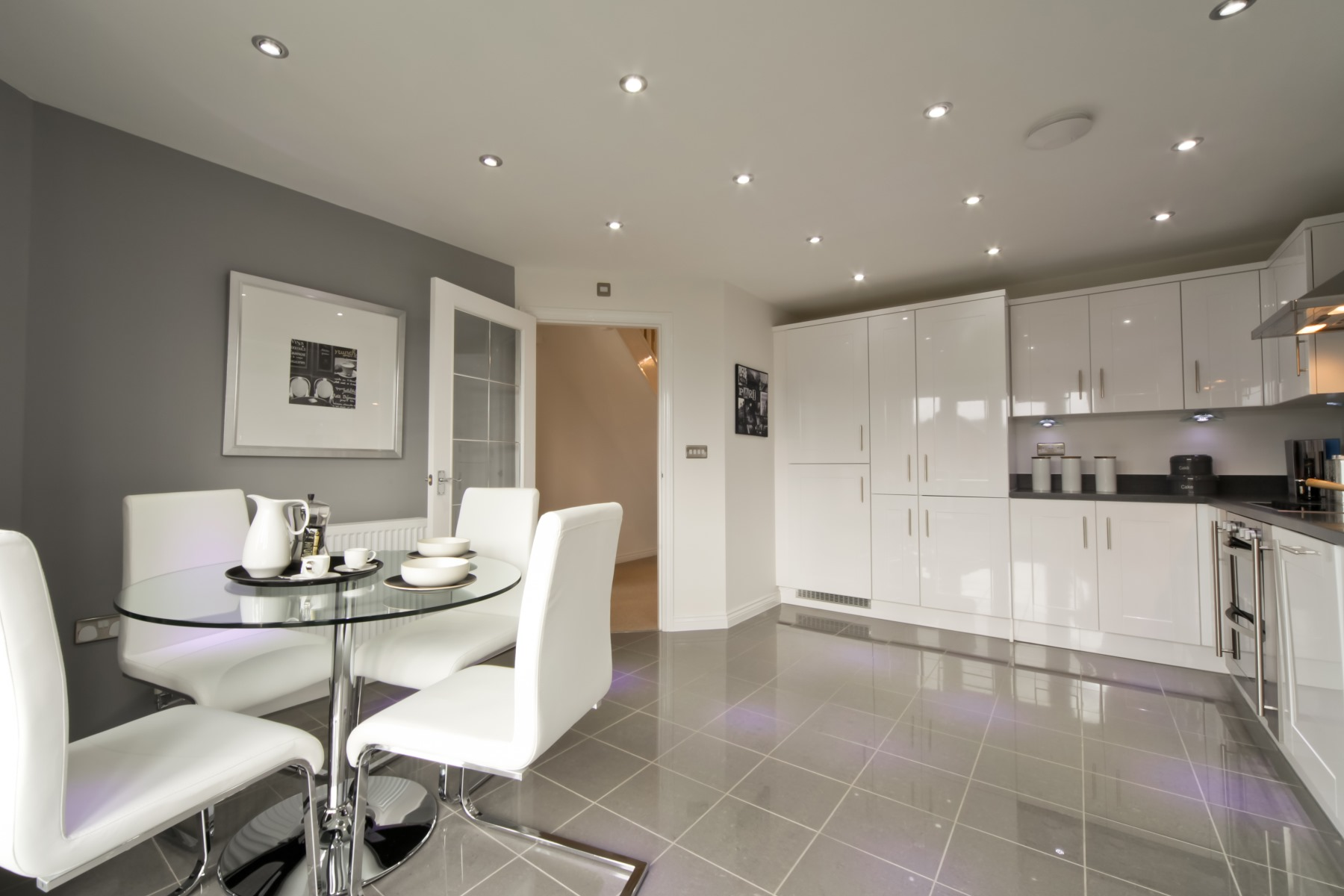 Tarvin Kitchen/Dining Area - Oakwood Meadows