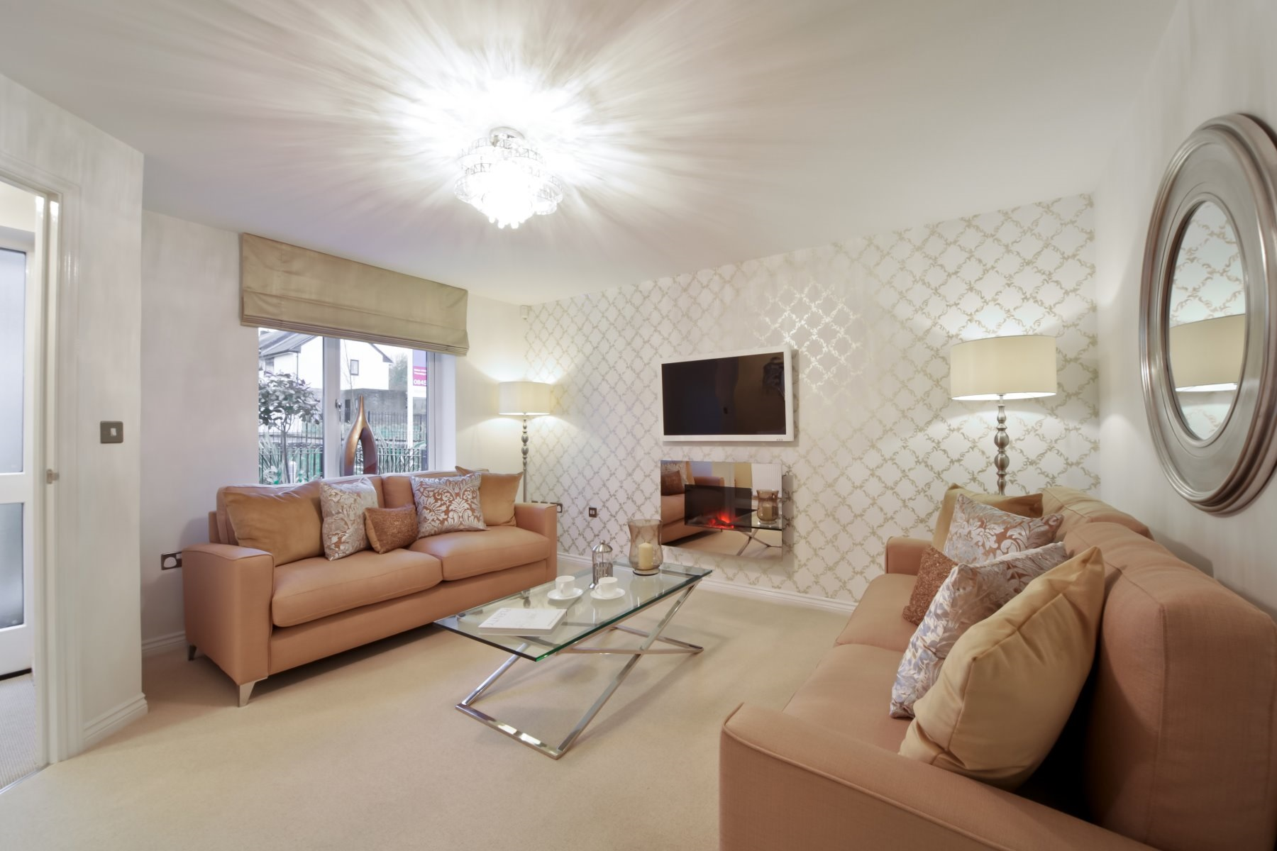 Earlsford Showhome Living Room - Sandbrook View
