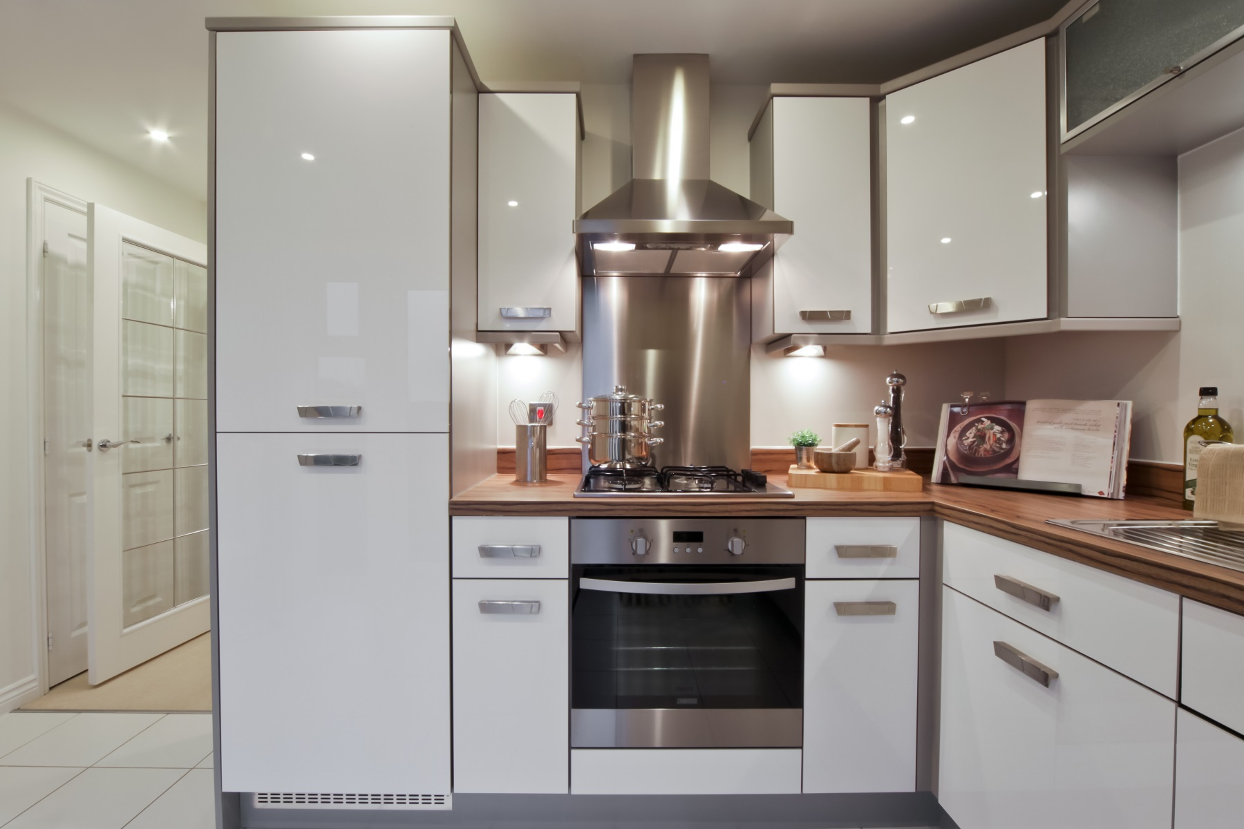 Earlsford Showhome Kitchen - Sandbrook View