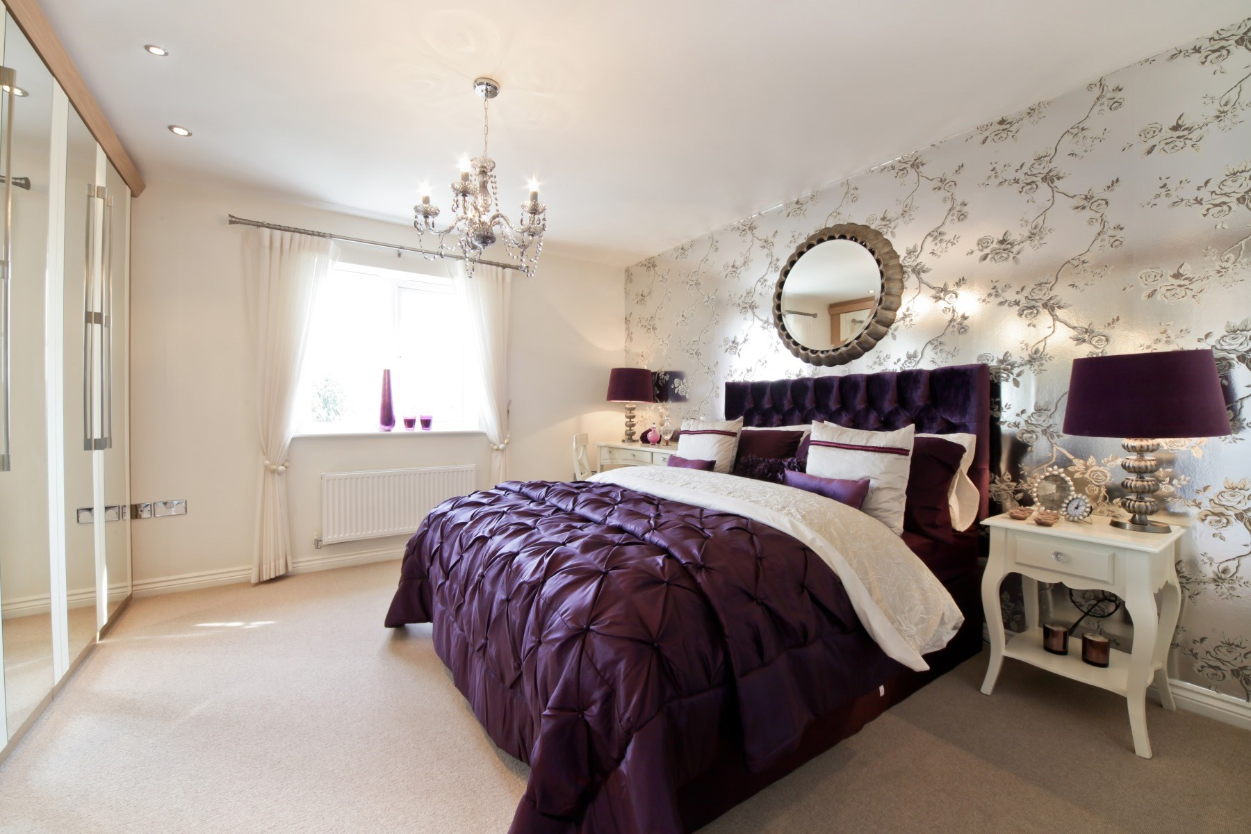 Cheshire Showhome Master Bedroom