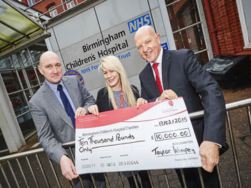 Birmingham Childrens Donation New  Website