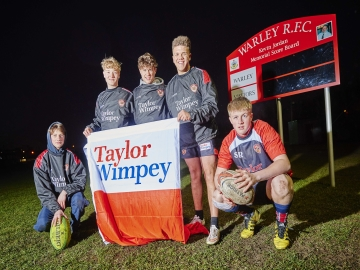 WEB TWM - Woodall Grange - Taylor Wimpey Rugby Sponsorship