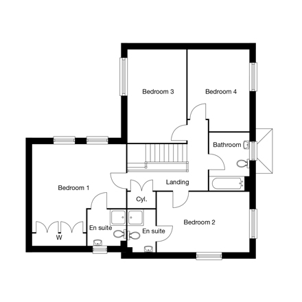 Taylor-Wimpey-The-Barley-4-bed-FF-Floorplan