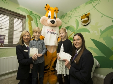 Taylor Wimpey - Saxon Fields - Tiger bedroom competition WEB