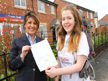 Teen sets off for Borneo thanks to our donation