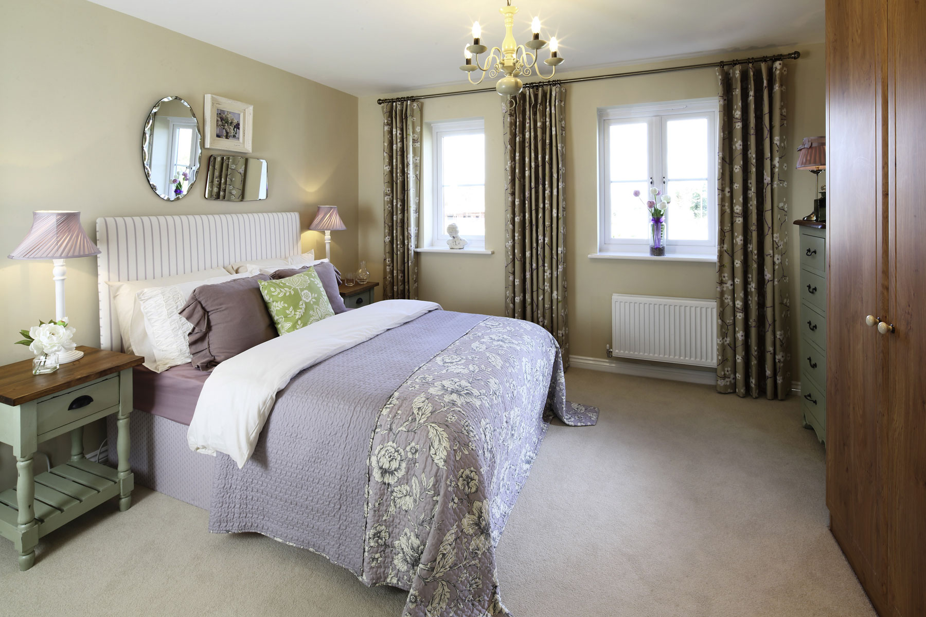 Master bedroom from the Lavenham