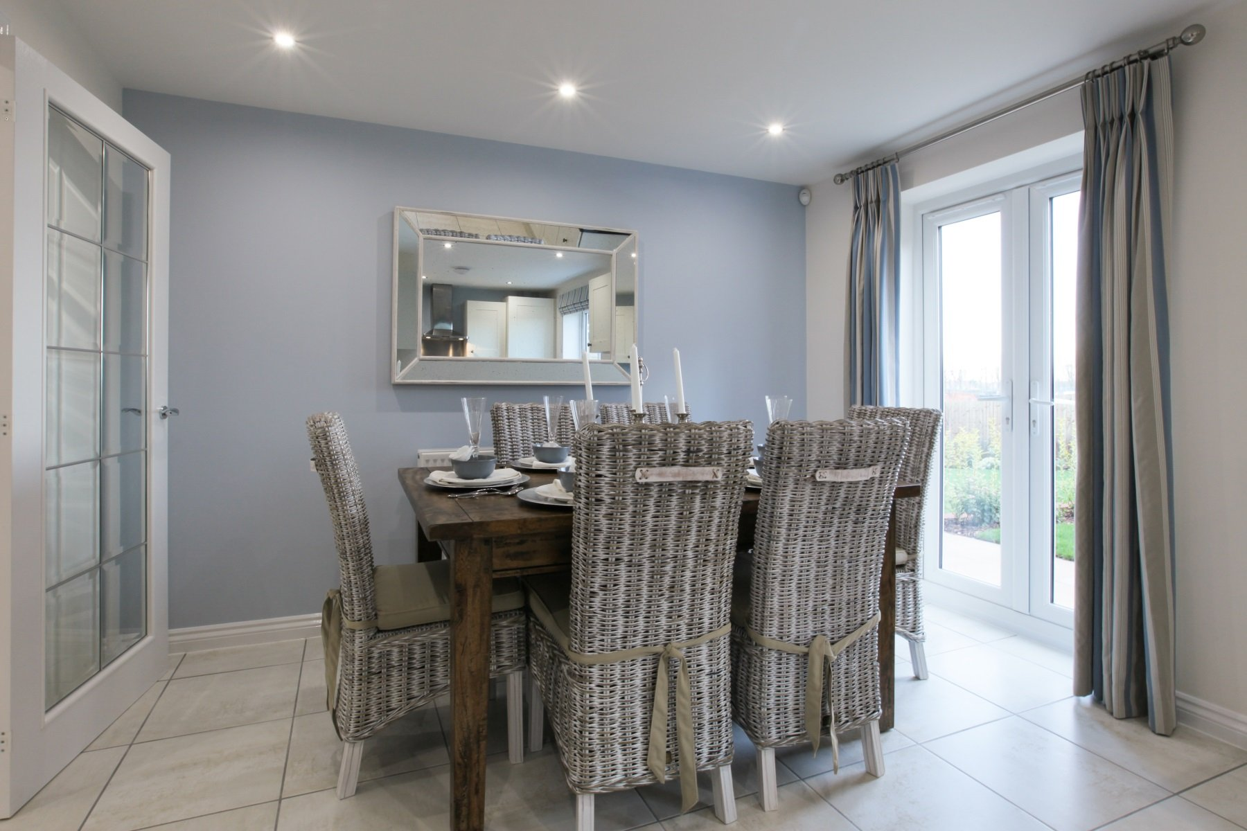 Rackenford Meadow Lindale example dining area