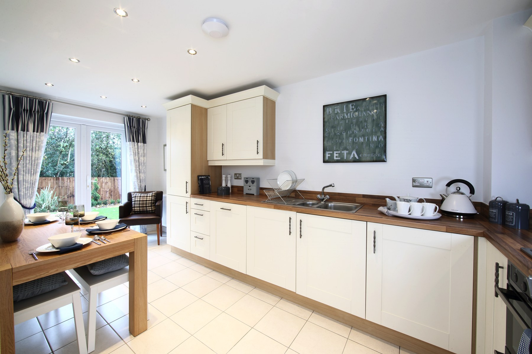 Bradenham kitchen  dining area