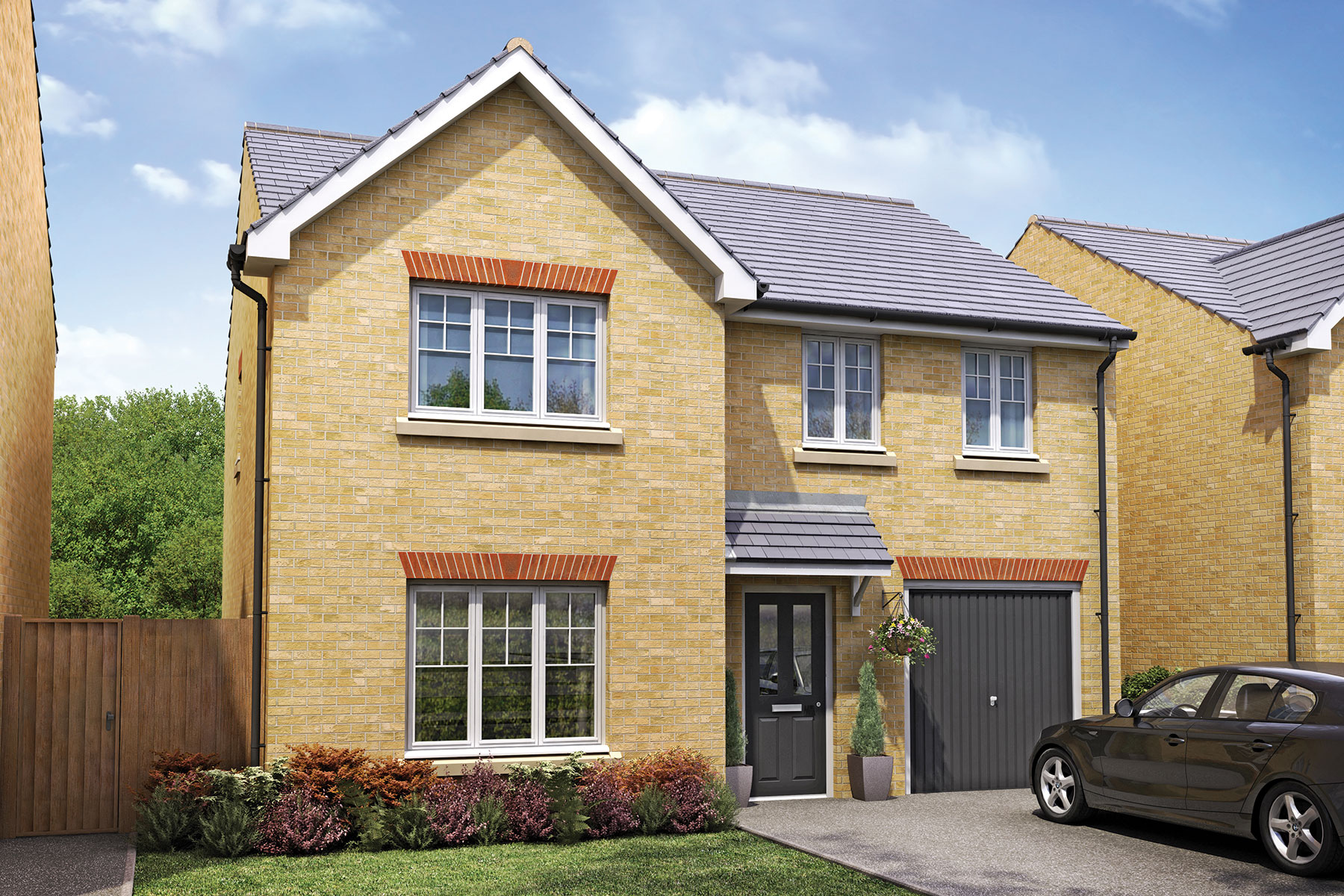 Taylor Wimpey - Exterior - The Eynsham - 4 bedroom new home