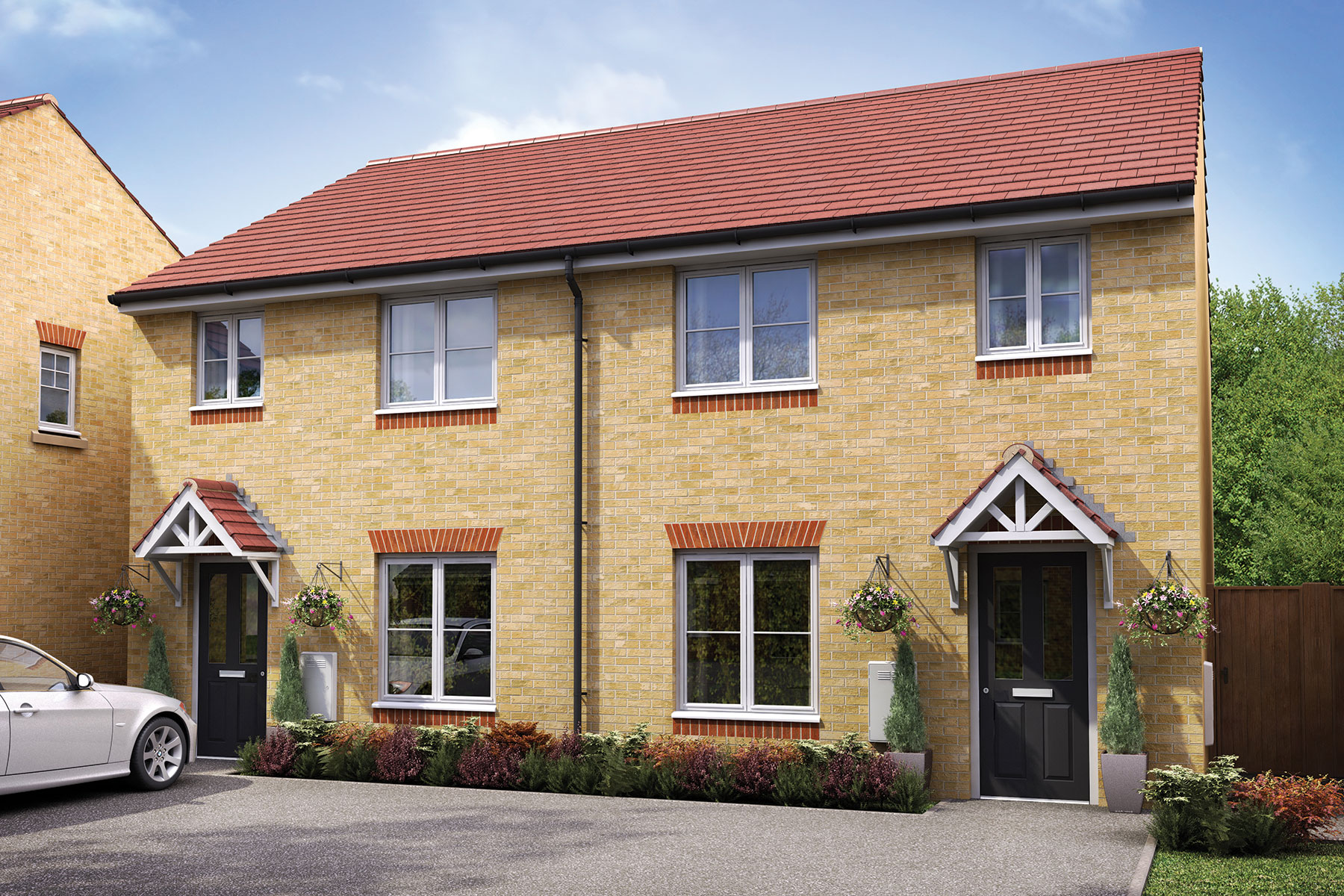 Taylor Wimpey - Exterior - The Gosford - 3 bedroom new home