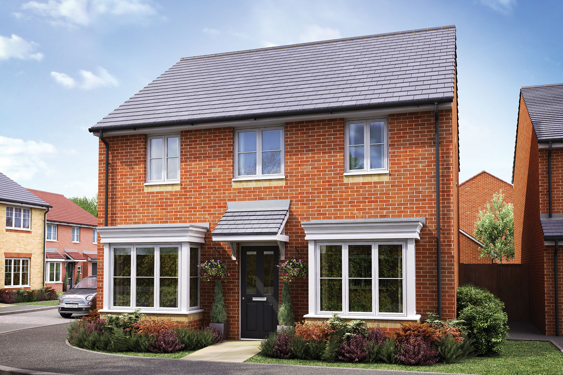 Taylor Wimpey - Exterior - The Hadleigh - 4 bedroom new home