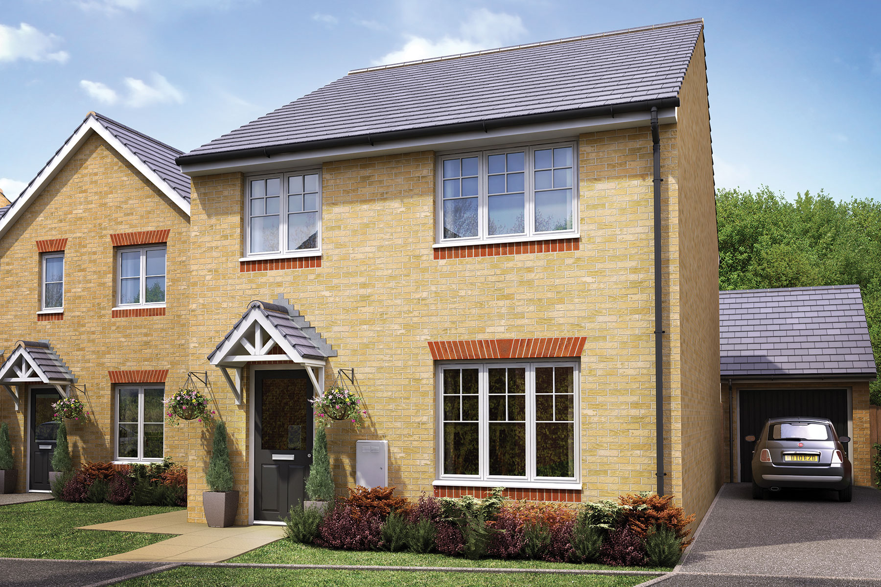 Taylor Wimpey - Exterior - The Midford - 4 bedroom new home