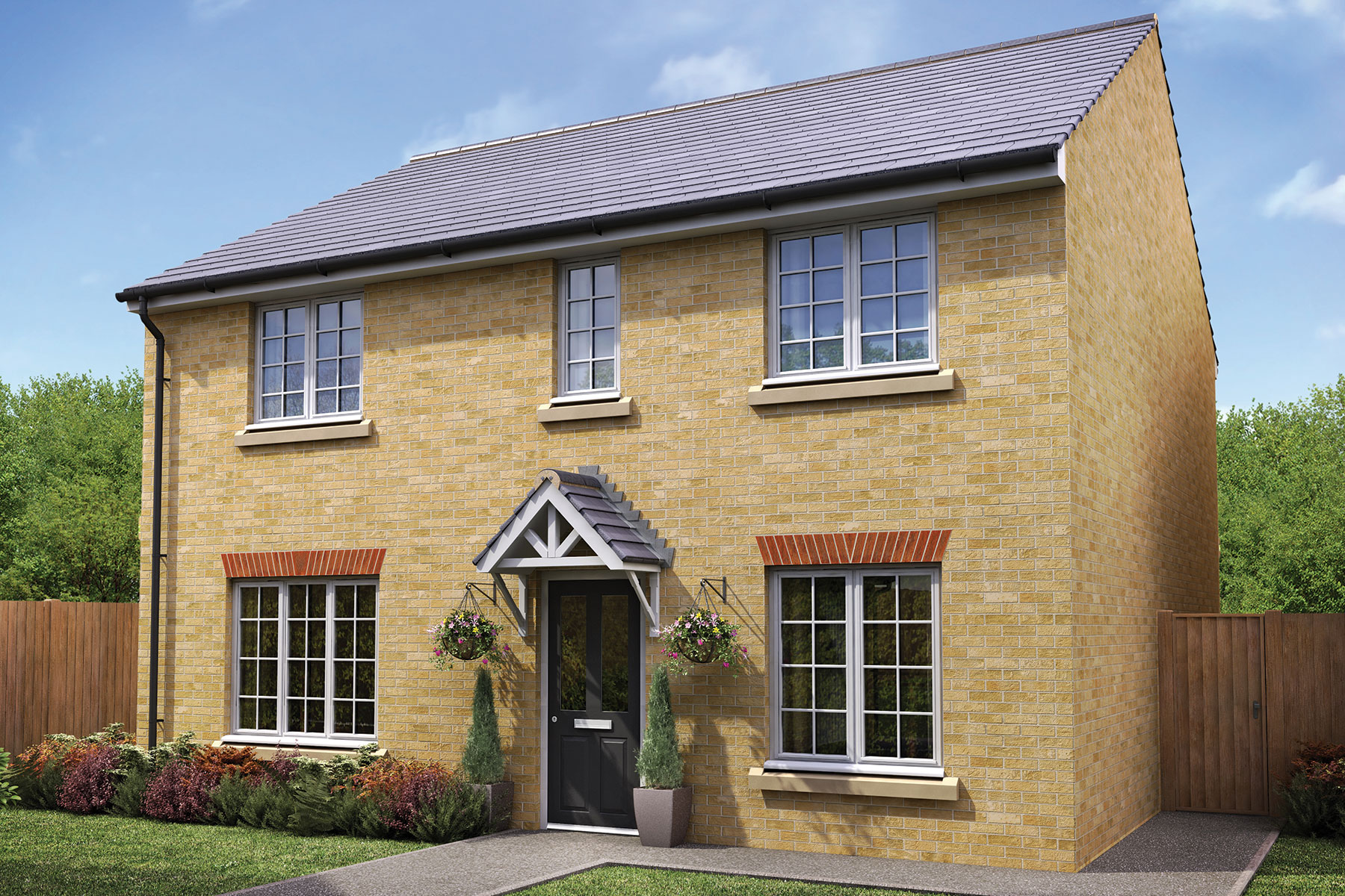 Taylor Wimpey - Exterior - The Shelford - 4 bedroom new home