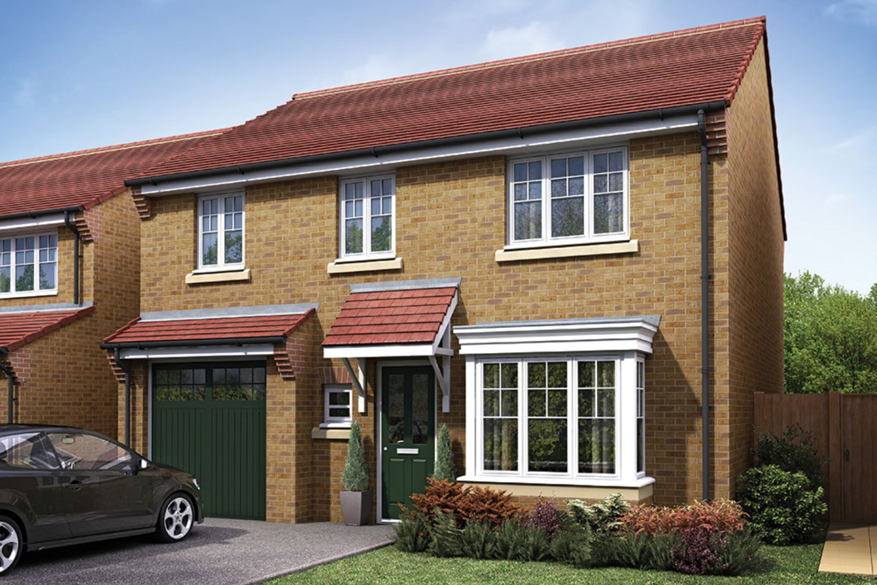 Taylor Wimpey - Exterior - The Downham - 4 bedroom new home
