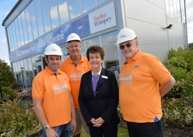 Taylor Wimpey - Stroke Club UK Donation