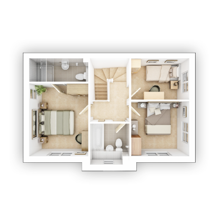 Taylor WImpey - Easdale- FF Floor plan
