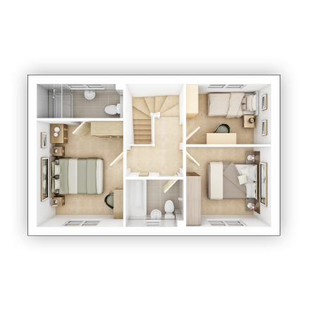 Taylor WImpey - Yewdale - FF Floor plan