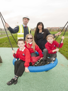 Image 2 - Repton Park play area opening - Website