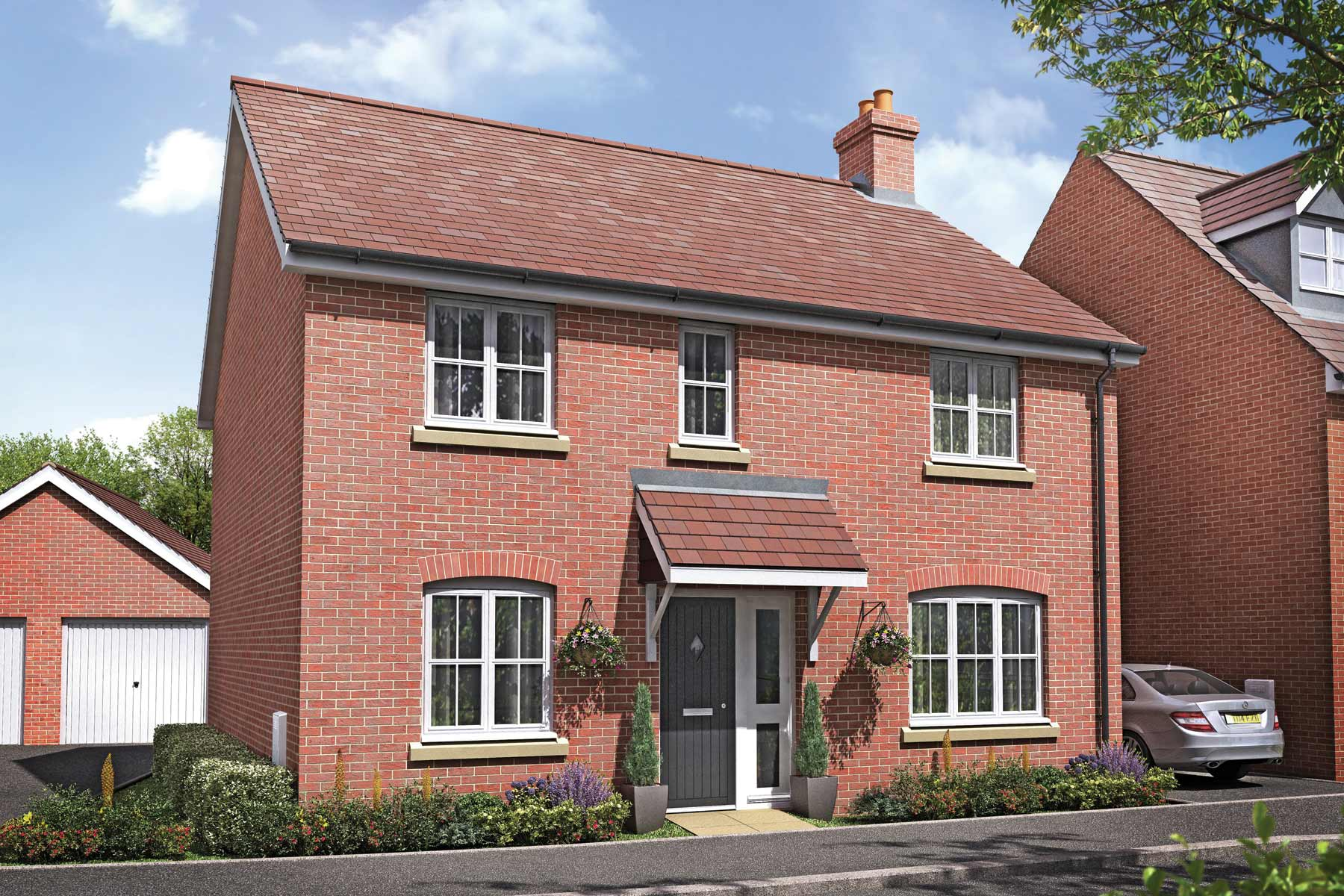 The Shelford four bedroom new home at Hayle Park