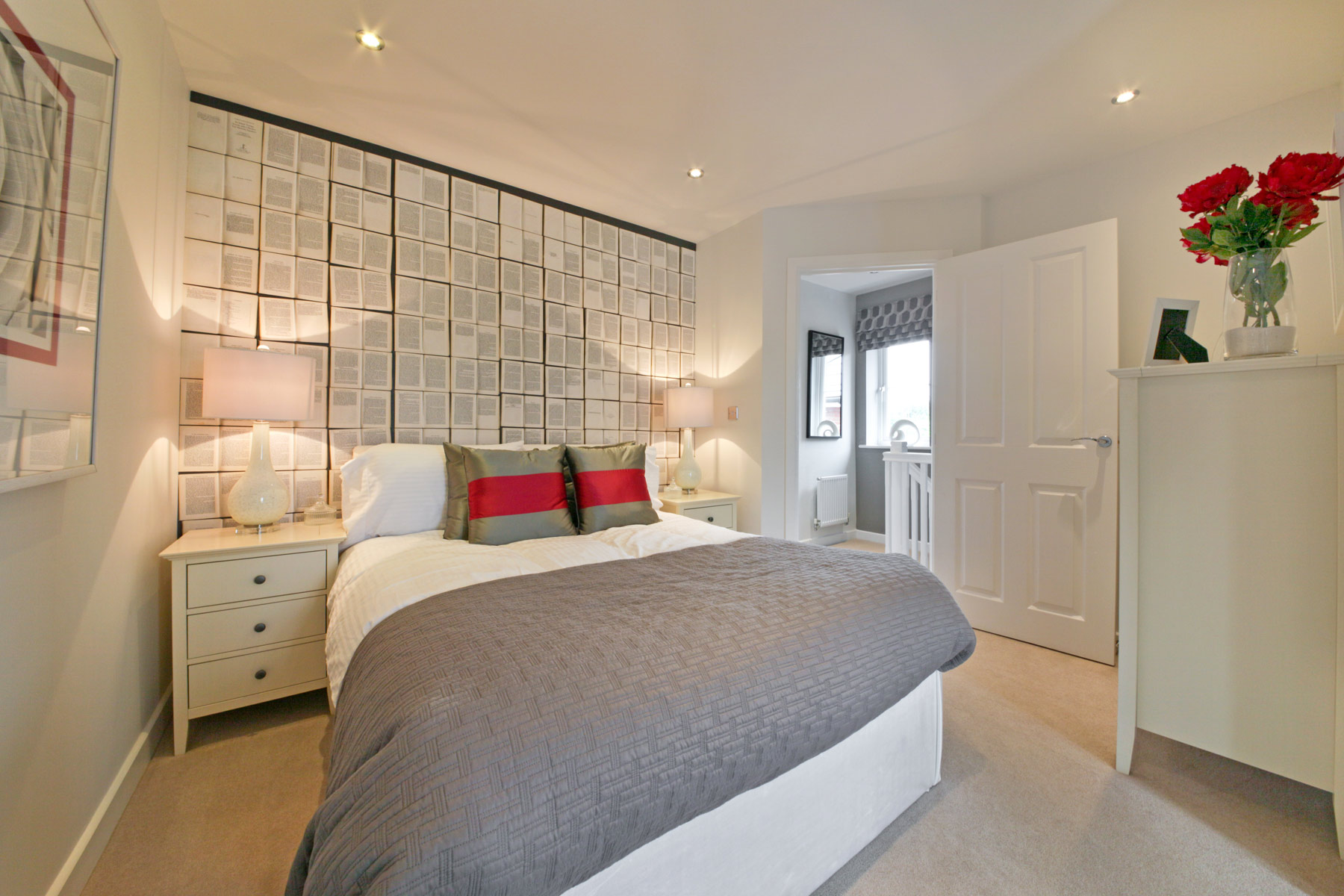 A typical Taylor Wimpey bedroom.