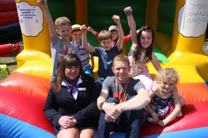 Taylor Wimpey Big Lunch event held at The Bridge development in Dartford