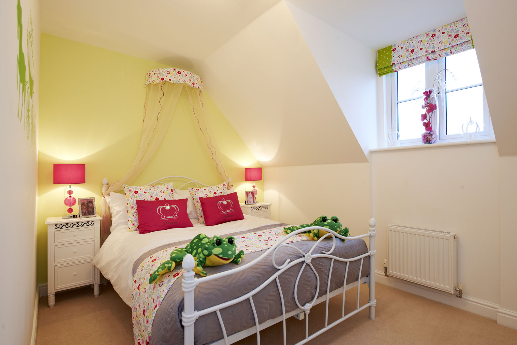Bedroom in The Newick four bedroom home