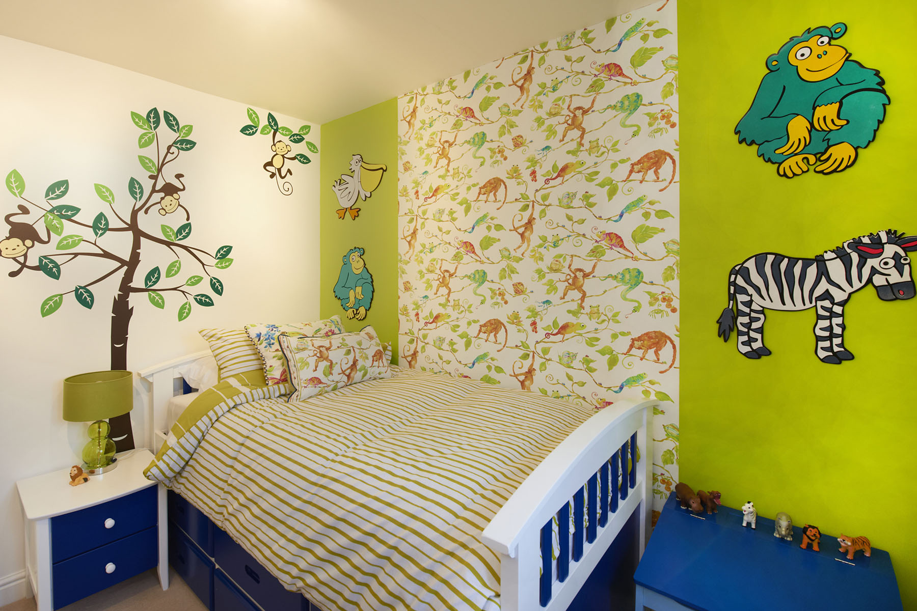 Children's bedroom in The Newick four bedroom home