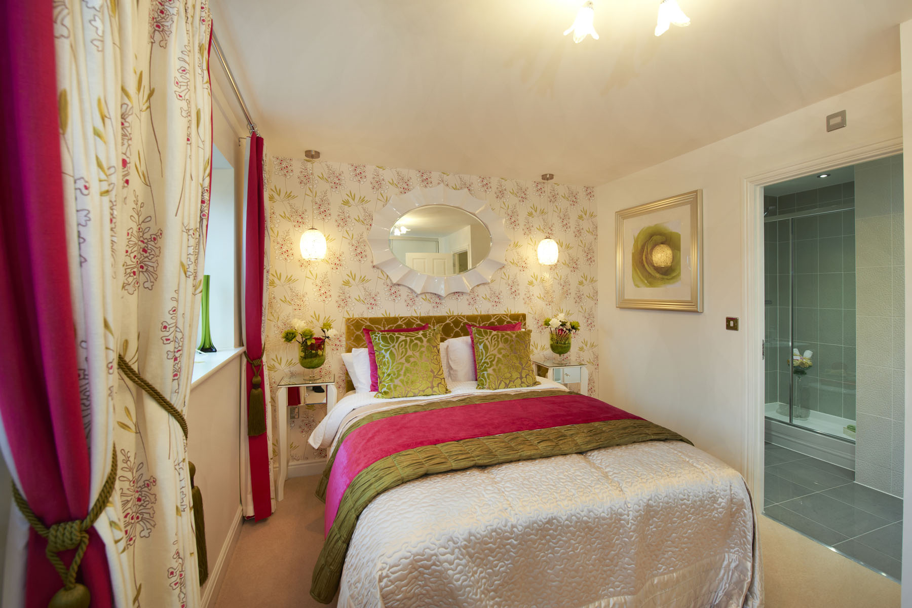 The Newick en suite bedroom