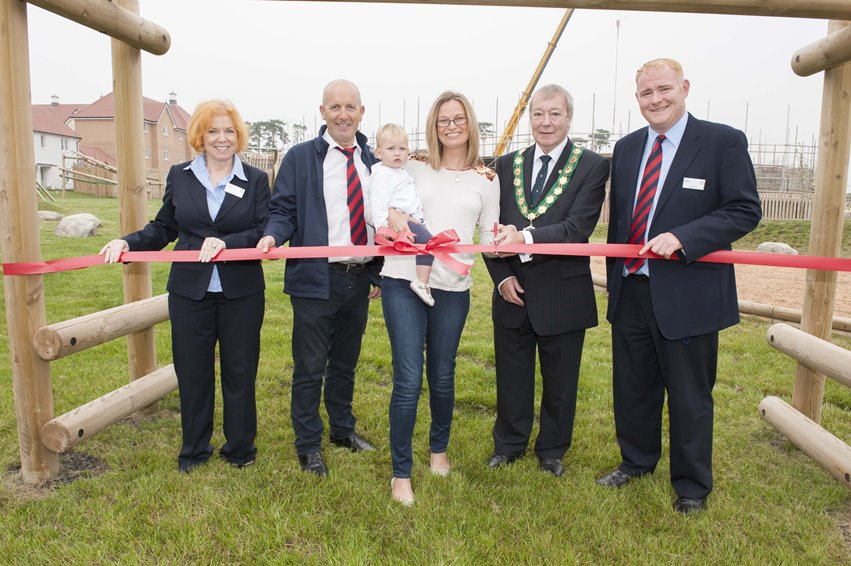 Taylor Wimpey - The Mill playground launch
