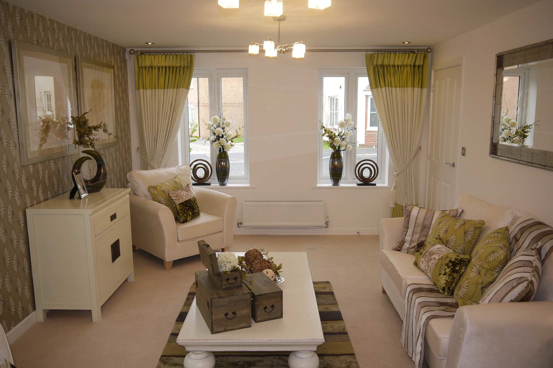 A typical Taylor Wimpey living room.