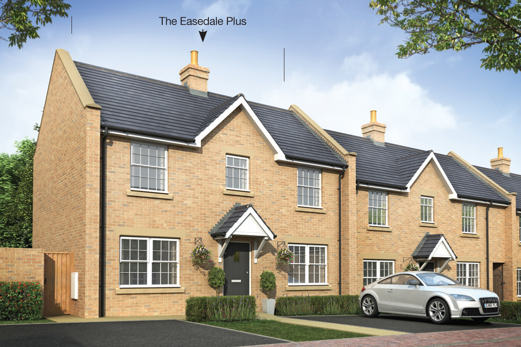The Easedale Plus three bedroom home